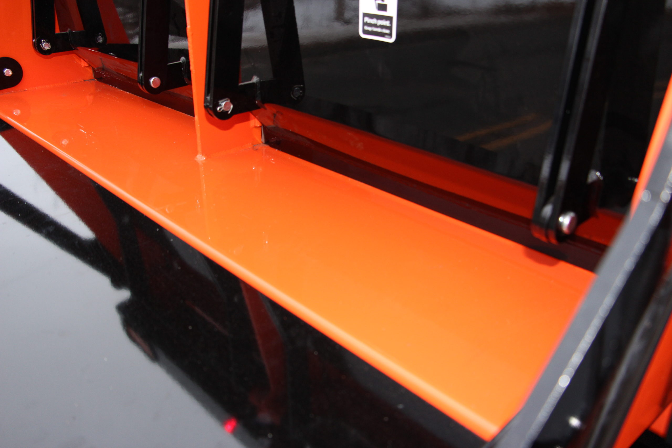 Rear Insulated Doors heated with Burner Exhaust and Knife edge design
