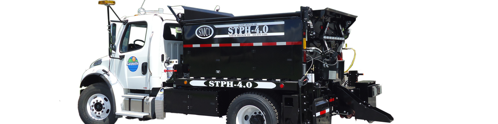 Stepp Stph-4.0 Asphalt Patch Truck